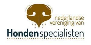 logo van de Nederlandse Vereniging van Hondenspecialisten